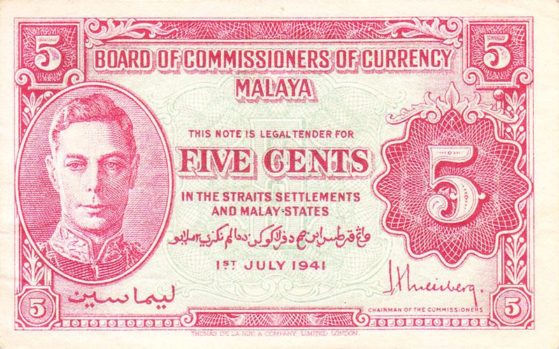 Datazione Inghilterra banconote